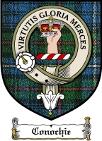 Conochie Clan Badge / Tartan FREE preview