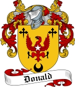 Donald Family Crest / Donald Coat of Arms JPG Download