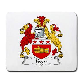 Keen Coat of Arms Mouse Pad