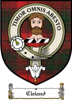 Cleland Clan Badge / Tartan FREE preview
