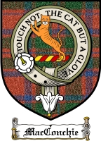 Macconchie Clan Robertson Clan Badge / Tartan FREE preview