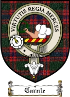 Carnie Clan Badge / Tartan FREE preview