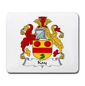Kay Coat of Arms Mouse Pad