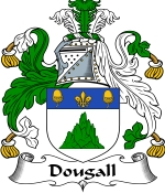 Dougall Family Crest / Dougall Coat of Arms JPG Download