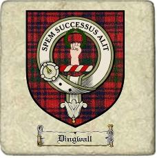 Dingwall Clan Ross Clan Badge Marble Tile