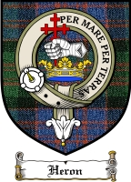 Heron Clan Badge / Tartan FREE preview