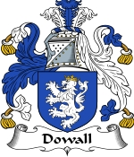 Dowall Family Crest / Dowall Coat of Arms JPG Download
