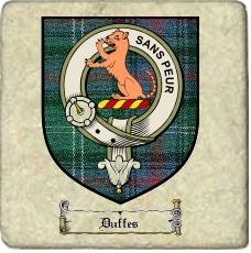 Duffes Clan Badge Marble Tile