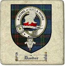 Dunbar Clan Home Clan Badge Marble Tile
