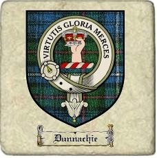 Dunnachie Clan Badge Marble Tile