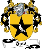Dow Family Crest / Dow Coat of Arms JPG Download