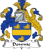 Downie Family Crest / Downie Coat of Arms JPG Download