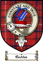 Geddes Clan Scott Clan Badge / Tartan FREE preview