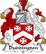 Duddington Family Crest / Duddington Coat of Arms JPG Download