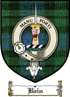 Bain Clan Mackay Clan Badge / Tartan FREE preview