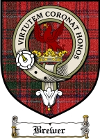 Brewer Clan Macgregor Clan Badge / Tartan FREE preview
