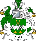 Duff Family Crest / Duff Coat of Arms JPG Download