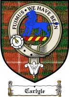 Carlyle Clan Badge / Tartan FREE preview