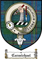 Carmichael Clan Macdougall Clan Badge / Tartan FREE preview