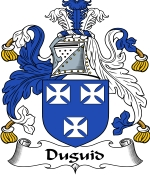 Duguid Family Crest / Duguid Coat of Arms JPG Download