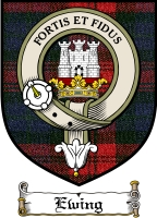 Ewing Clan Badge / Tartan FREE preview