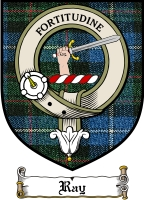 Ray Clan Badge / Tartan FREE preview