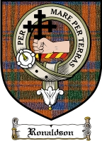 Ronaldson Clan Badge / Tartan FREE preview