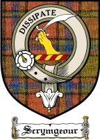 Scrymgeour Clan Badge / Tartan FREE preview