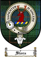 Slora Clan Badge / Tartan FREE preview