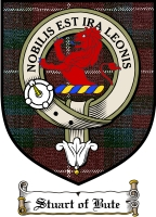 Stuart Bute Clan Badge / Tartan FREE preview