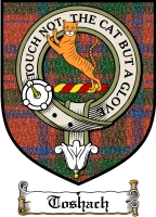Toshach Clan Badge / Tartan FREE preview