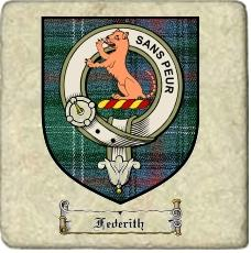 Federith Clan Badge Marble Tile