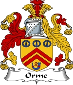 Orme Family Crest / Orme Coat of Arms JPG Download