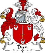 Dun Family Crest / Dun Coat of Arms JPG Download