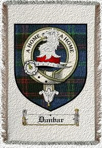 Dunbar Clan Home Clan Badge Throw Blanket