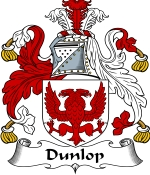 Dunlop Family Crest / Dunlop Coat of Arms JPG Download