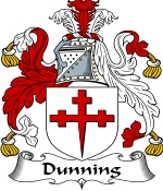Dunning Family Crest / Dunning Coat of Arms JPG Download