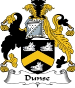 Dunse Family Crest / Dunse Coat of Arms JPG Download