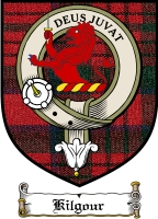 Kilgour Clan Badge / Tartan FREE preview