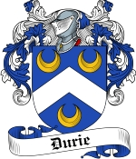 Durie Family Crest / Durie Coat of Arms JPG Download
