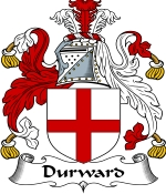 Durward Family Crest / Durward Coat of Arms JPG Download