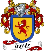 Duthie Family Crest / Duthie Coat of Arms JPG Download