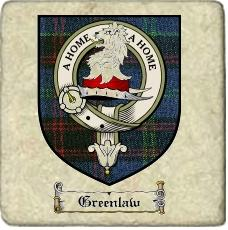Greenlaw Clan Badge Marble Tile