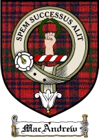 Macandrew Clan Badge / Tartan FREE preview