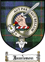 Jamieson Clan Stuart Clan Badge / Tartan FREE preview