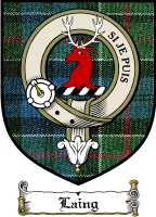 Laing Clan Gordon Clan Badge / Tartan FREE preview