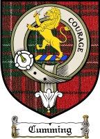 Cumming Clan Badge / Tartan FREE preview