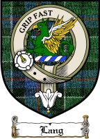 Lang Clan Macdonald Clan Badge / Tartan FREE preview