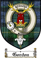 Gordon Clan Badge / Tartan FREE preview