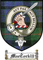 Maccorkill Clan Badge / Tartan FREE preview